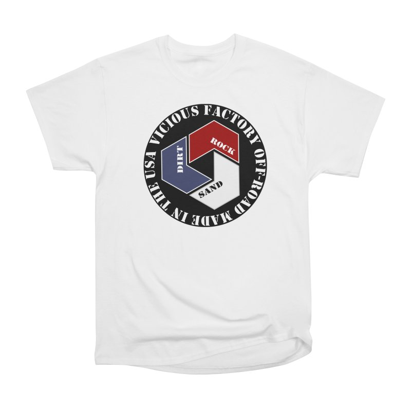 VICIOUS FACTORY OFF-ROAD LETS ROLL Women's Heavyweight Unisex T-Shirt by Vicious Factory