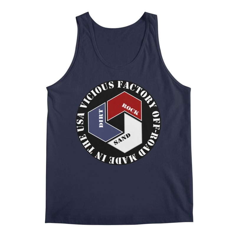 VICIOUS FACTORY OFF-ROAD LETS ROLL Men's Regular Tank by Vicious Factory