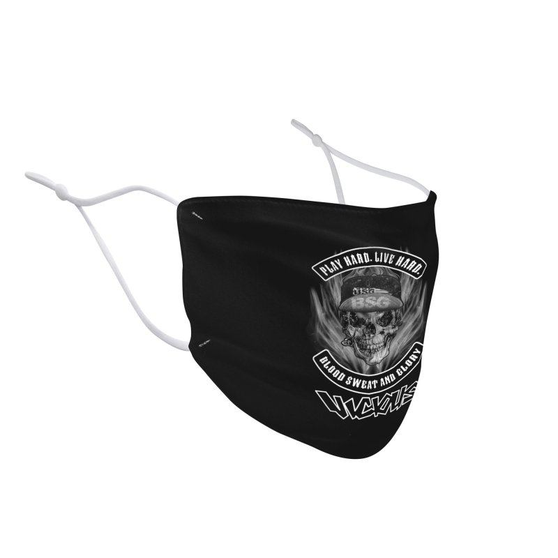 VICIOUS BLOOD SWEAT AND GLORY Accessories Face Mask by Vicious Factory