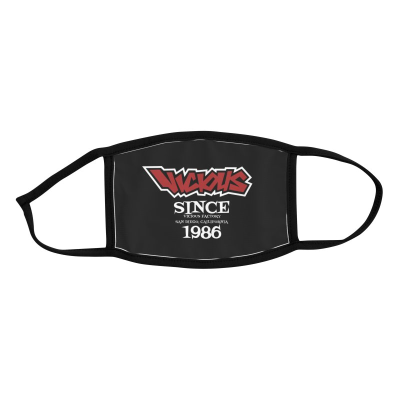 VICIOUS San Diego California Accessories Face Mask by Vicious Factory