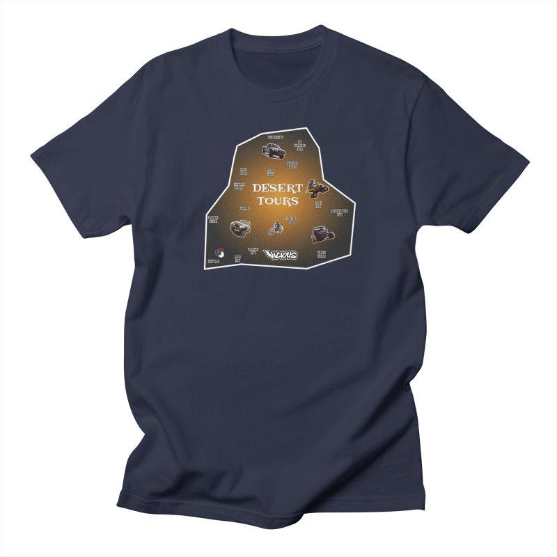 DESERT TOURS, PICK A SPOT LETS RIDE Men's T-Shirt by Vicious Factory