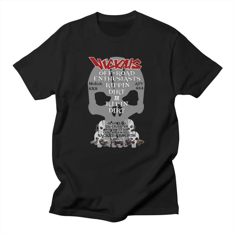 VICIOUS SACRED GROUNDS Men's T-Shirt by Vicious Factory
