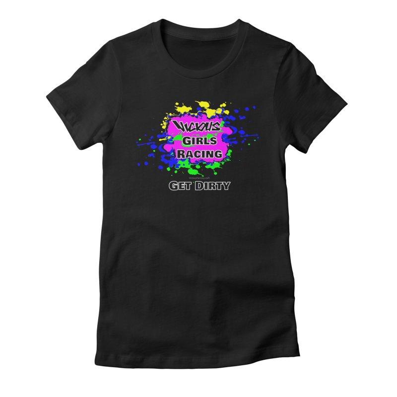 VICIOUS GIRLS RACING Women's T-Shirt by Vicious Factory