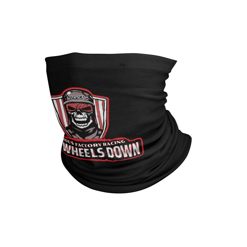 ALL WHEELS DOWN VFR Accessories Neck Gaiter by Vicious Factory