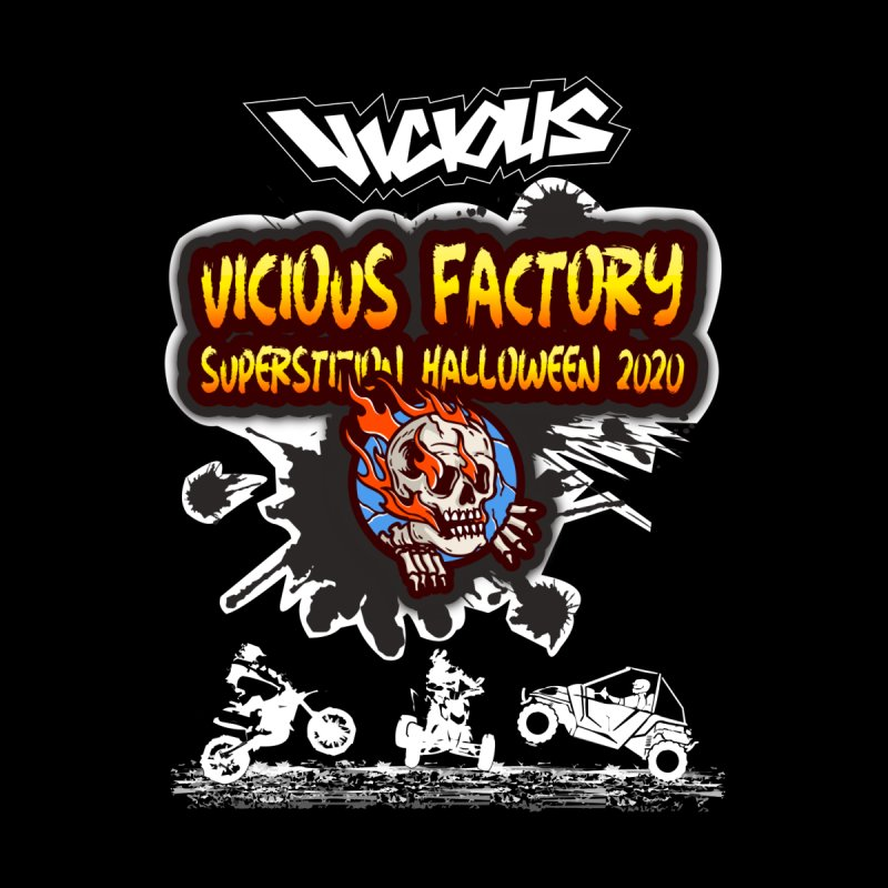 Superstition Halloween 2020 Men's Longsleeve T-Shirt by Vicious Factory