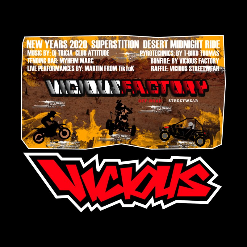NEW YEARS 2020 Men's T-Shirt by Vicious Factory
