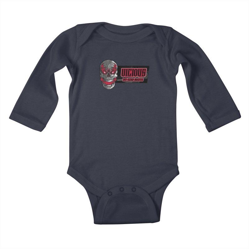 MISFIT Kids Gear Baby Longsleeve Bodysuit by Vicious Factory