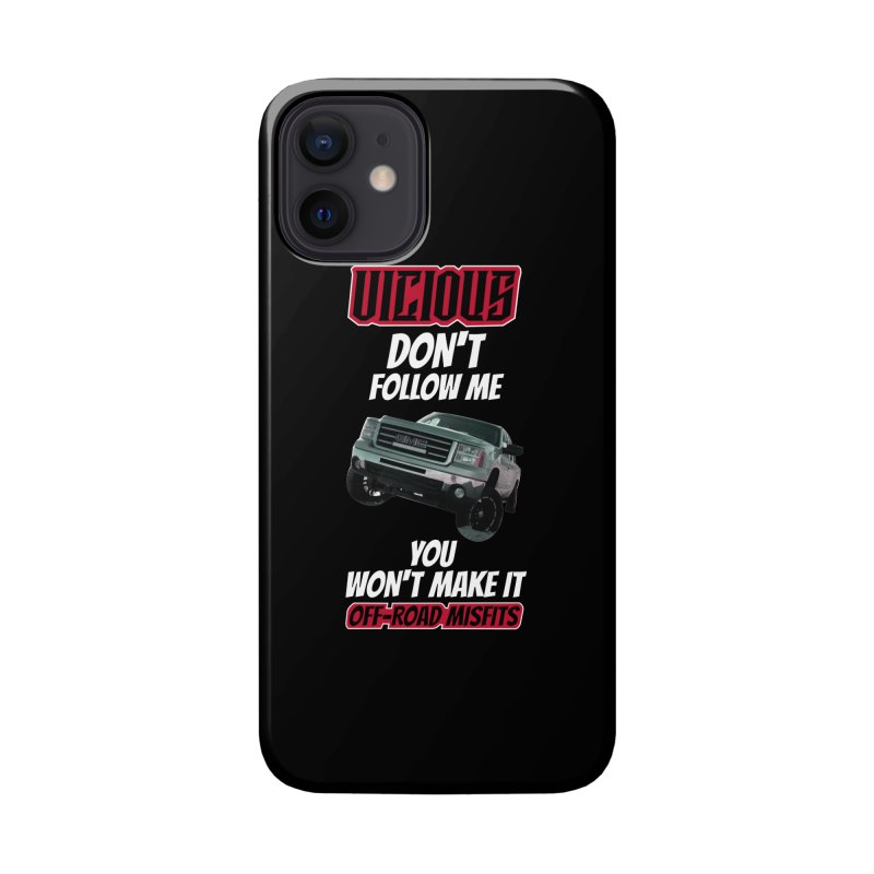 DONT FOLLOW ME Stickers Beach Towels Coffee Mugs Masks and more Phone Case by Vicious Factory