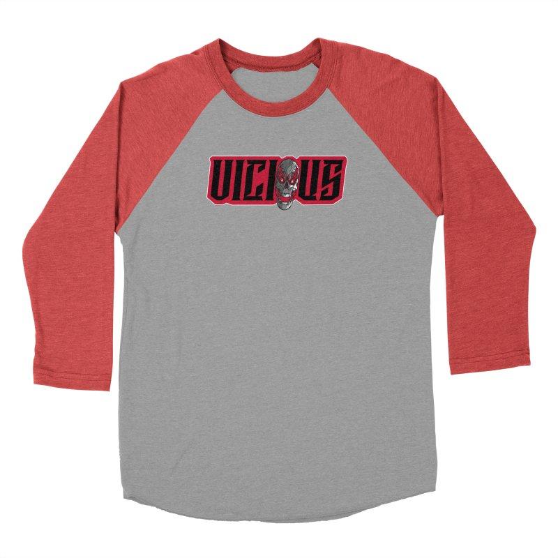 VICIOUS SKULL Men's Longsleeve T-Shirt by Vicious Factory
