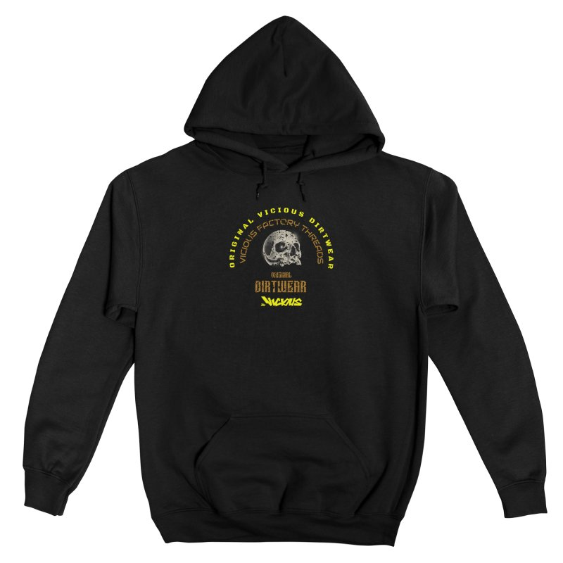 VICIOUS FACTORY THREADS Men's Gear Pullover Hoody by Vicious Factory
