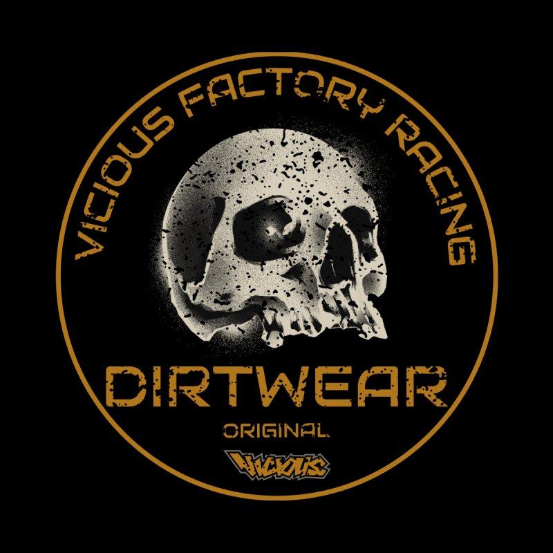 VFR DIRTWEAR ORIGINAL Men's Gear T-Shirt by Vicious Factory