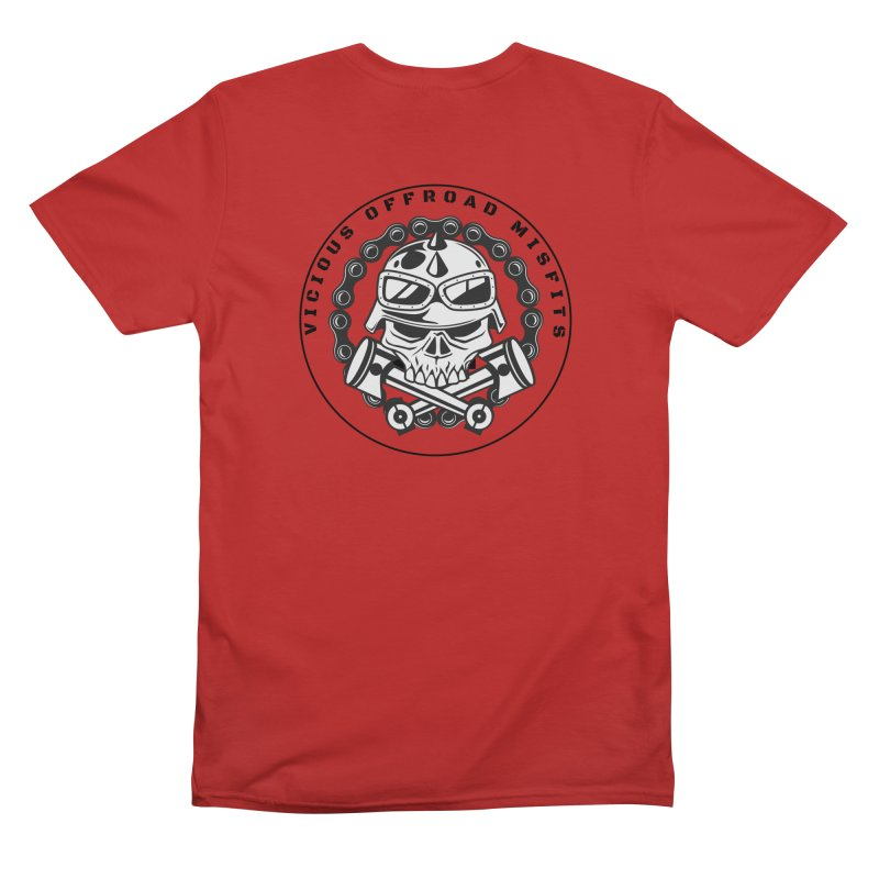 OFFROAD MISFITS Men's Gear T-Shirt by Vicious Factory