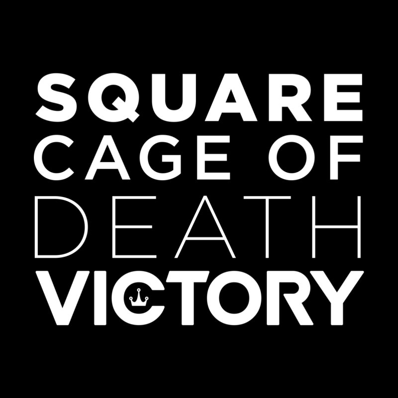 Square Cage of Death White by Victory Fighting Championship Shop