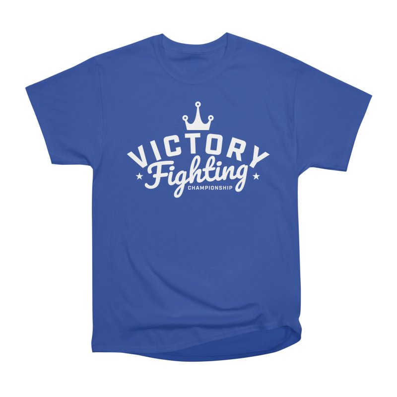 Victory Tribute White Women's Heavyweight Unisex T-Shirt by Victory Fighting Championship Shop