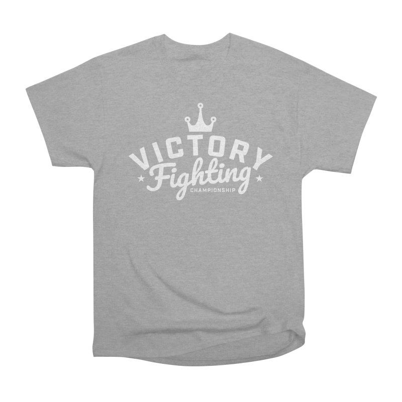 Victory Tribute White Men's Heavyweight T-Shirt by Victory Fighting Championship Shop