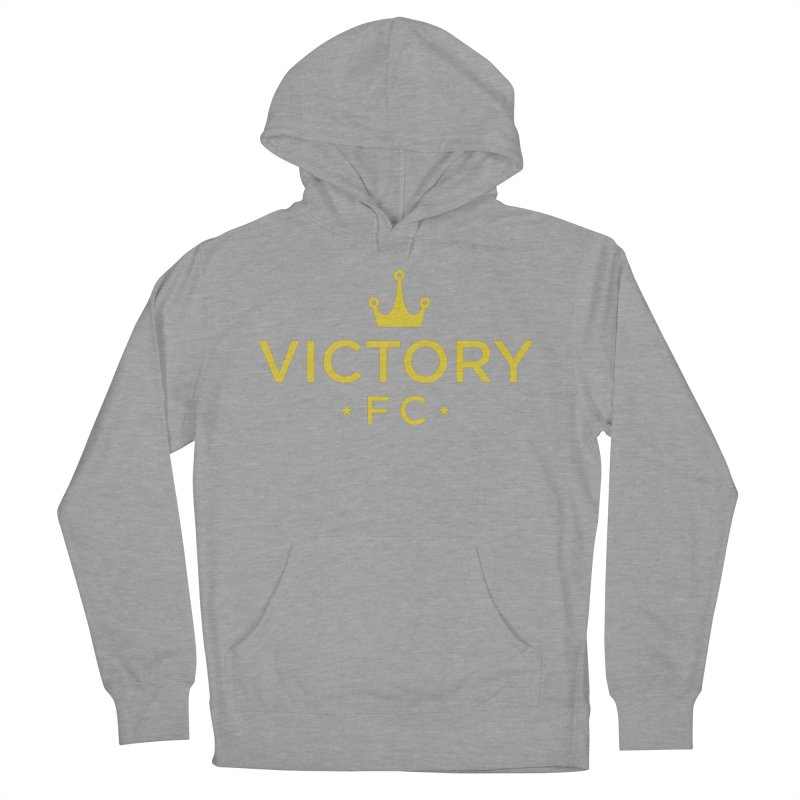 Victory Crowned Men's French Terry Pullover Hoody by Victory Fighting Championship Shop