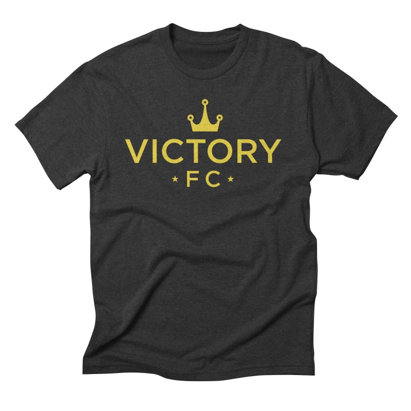 Victory Crowned Men's Triblend T-Shirt by Victory Fighting Championship Shop