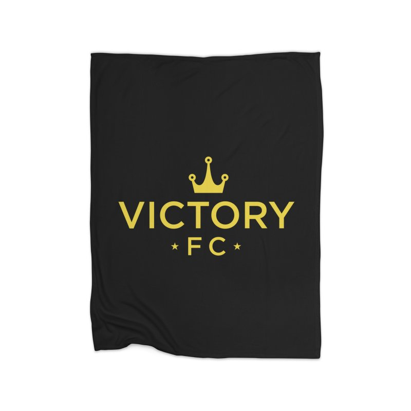 Victory Crowned Home Fleece Blanket Blanket by Victory Fighting Championship Shop