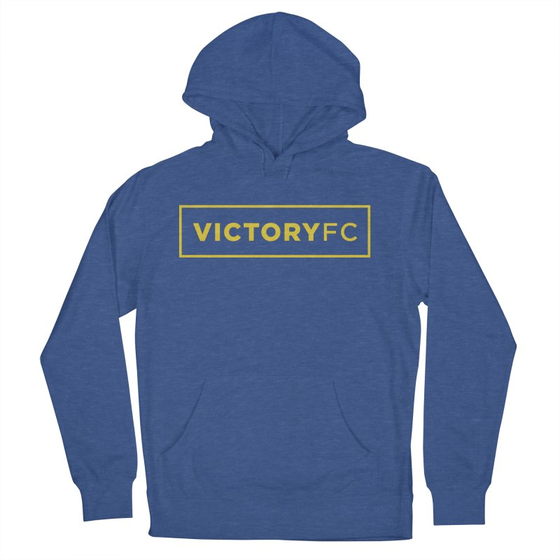 VictoryFC Gold Bar Women's French Terry Pullover Hoody by Victory Fighting Championship Shop