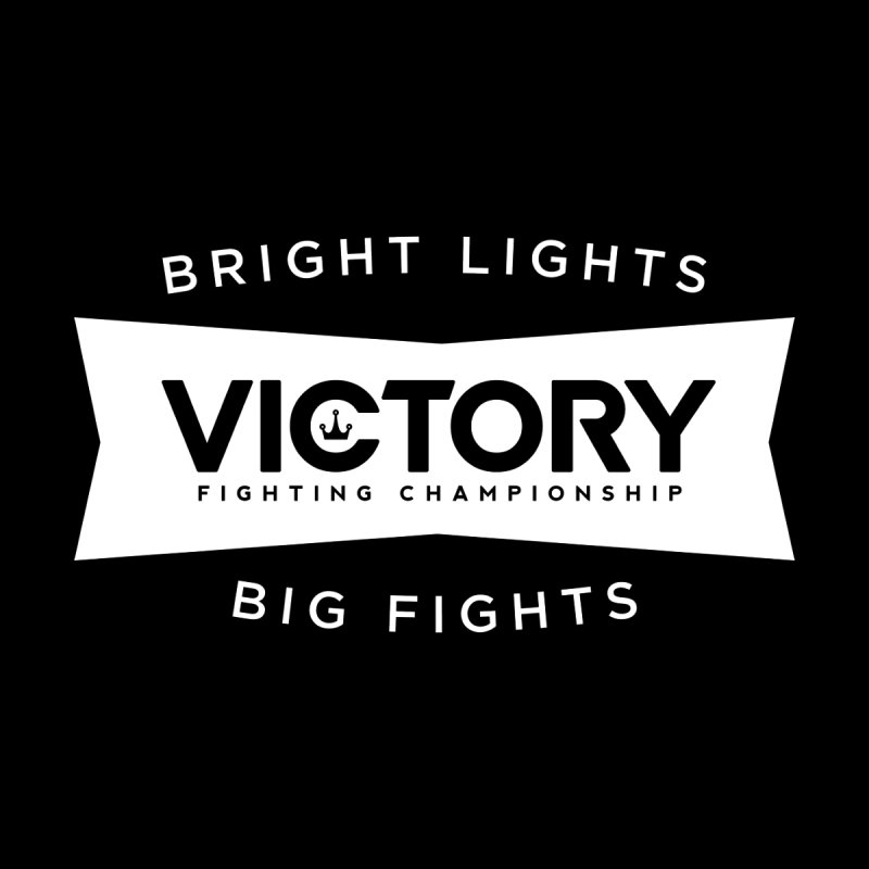 Victory Bowtie White Men's T-Shirt by Victory Fighting Championship Shop