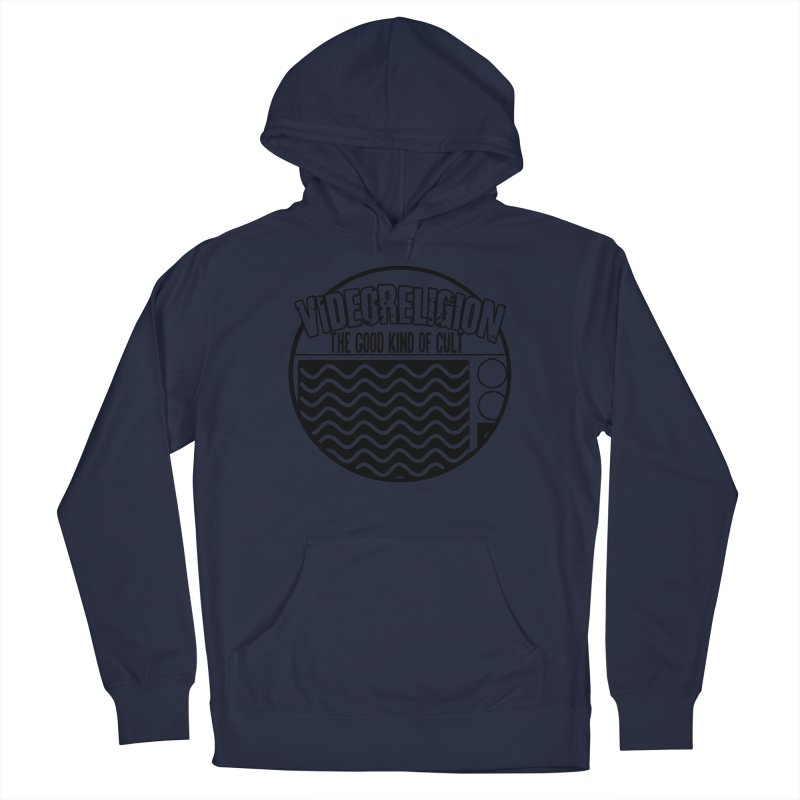 The Good Kind (black) Men's Pullover Hoody by VideoReligion's Shop