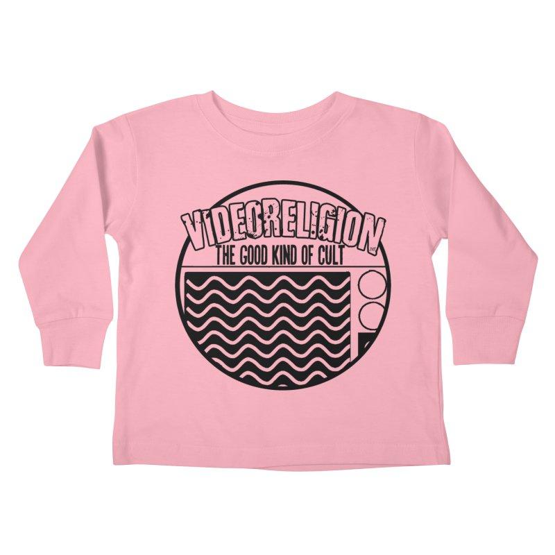 The Good Kind (black) Kids Toddler Longsleeve T-Shirt by VideoReligion's Shop