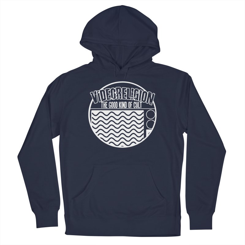 The Good Kind (white) Men's Pullover Hoody by VideoReligion's Shop