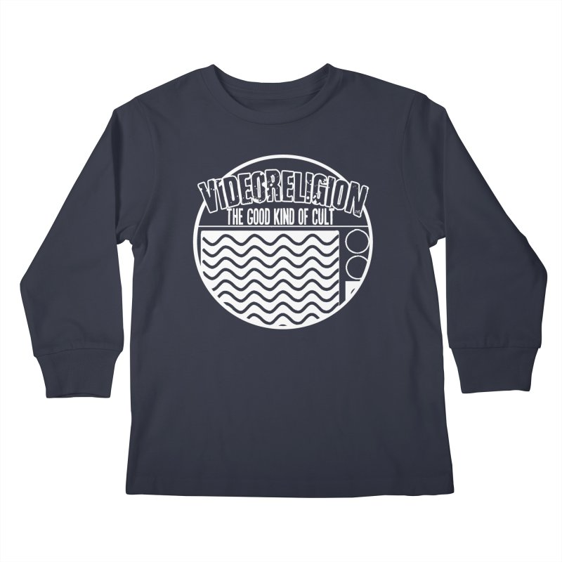 The Good Kind (white) Kids Longsleeve T-Shirt by VideoReligion's Shop