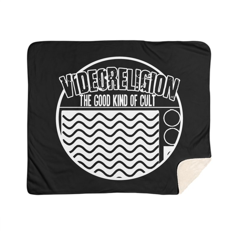 The Good Kind (white) Home Blanket by VideoReligion's Shop