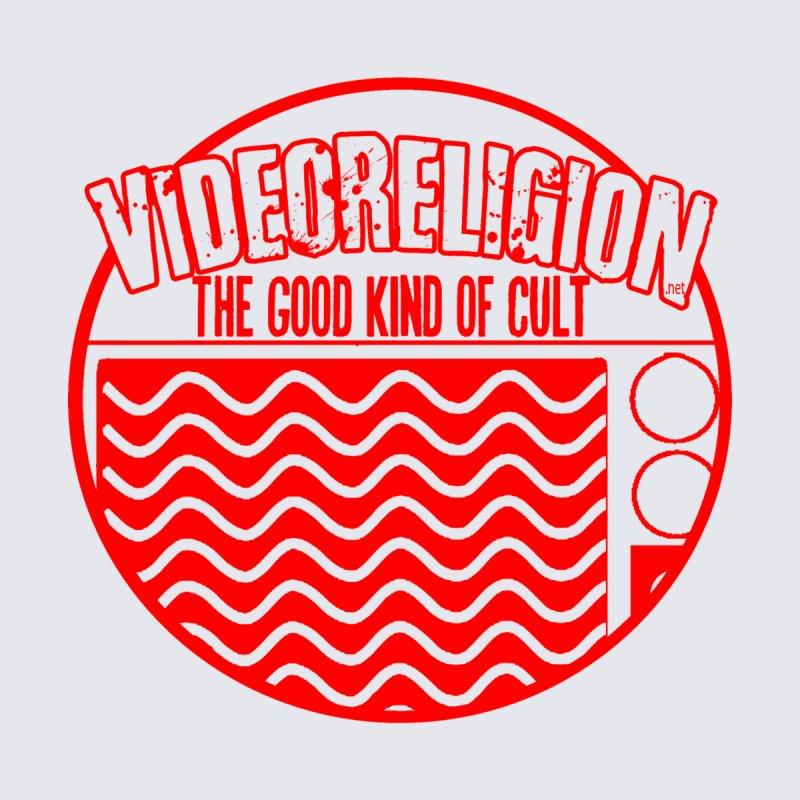 The Good Kind (red) Men's V-Neck by VideoReligion's Shop