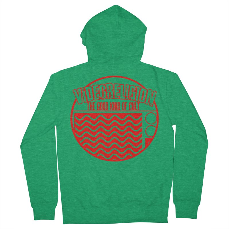 The Good Kind (red) Women's Zip-Up Hoody by VideoReligion's Shop