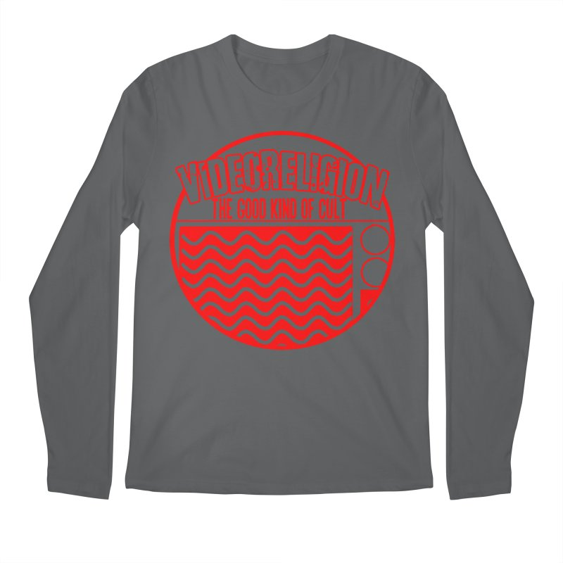 The Good Kind (red) Men's Longsleeve T-Shirt by VideoReligion's Shop
