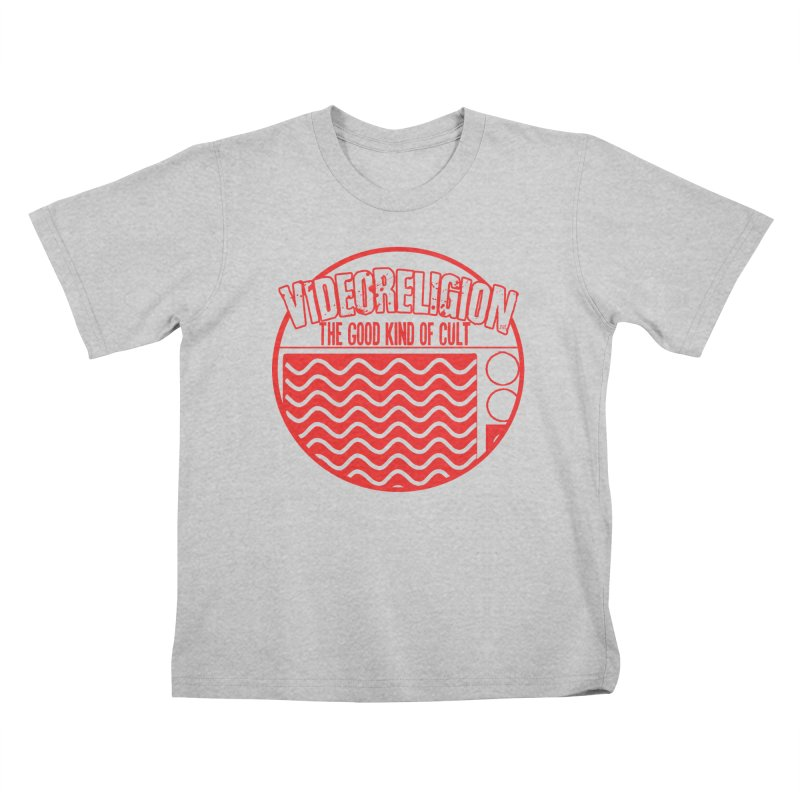 The Good Kind (red) Kids T-Shirt by VideoReligion's Shop