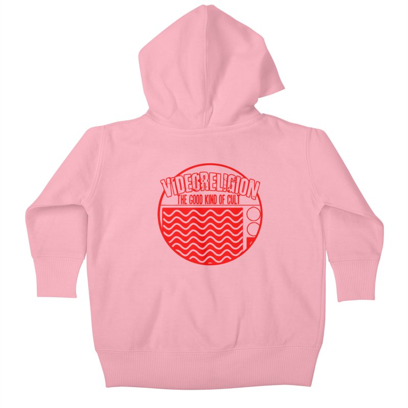 The Good Kind (red) Kids Baby Zip-Up Hoody by VideoReligion's Shop