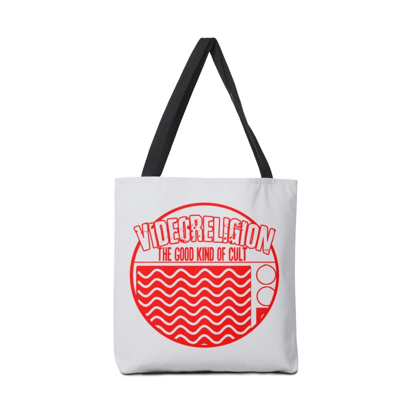 The Good Kind (red) Accessories Bag by VideoReligion's Shop