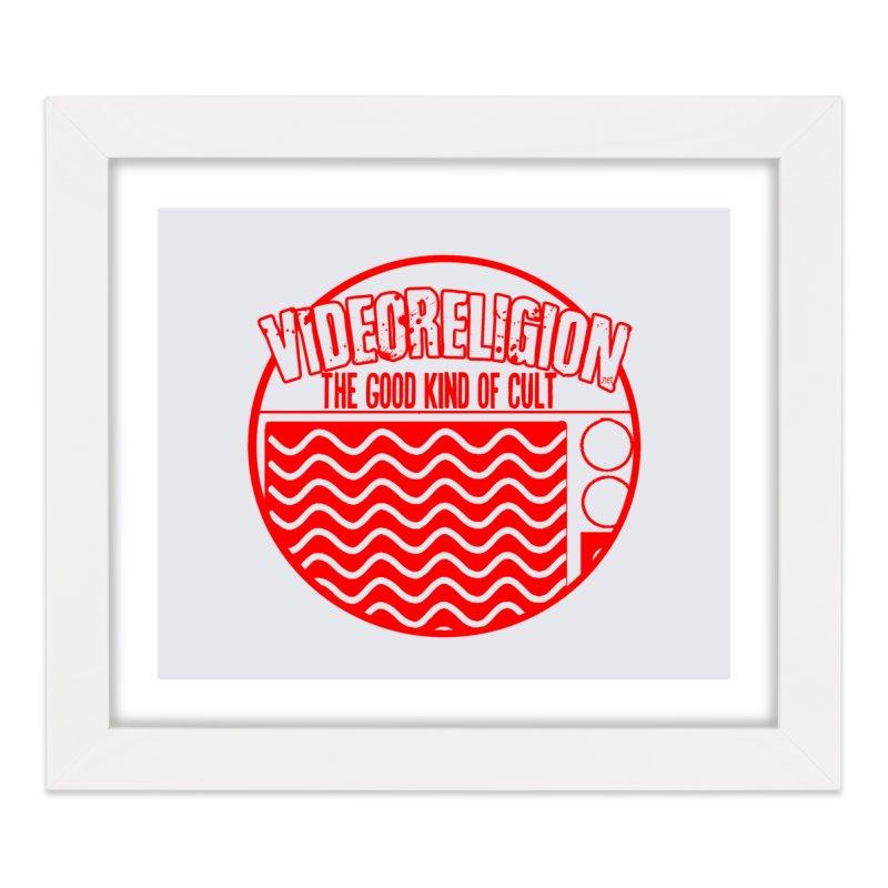The Good Kind (red) Home Framed Fine Art Print by VideoReligion's Shop