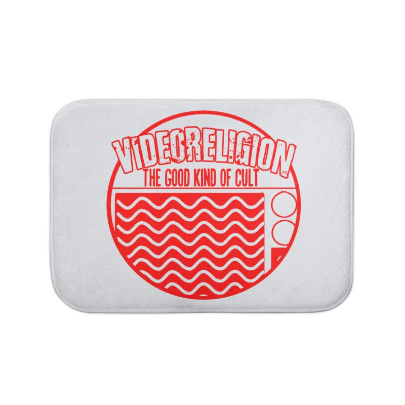 The Good Kind (red) Home Bath Mat by VideoReligion's Shop