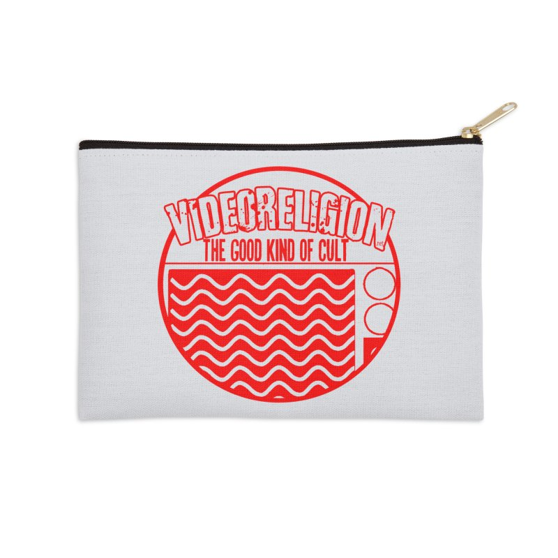 The Good Kind (red) Accessories Zip Pouch by VideoReligion's Shop