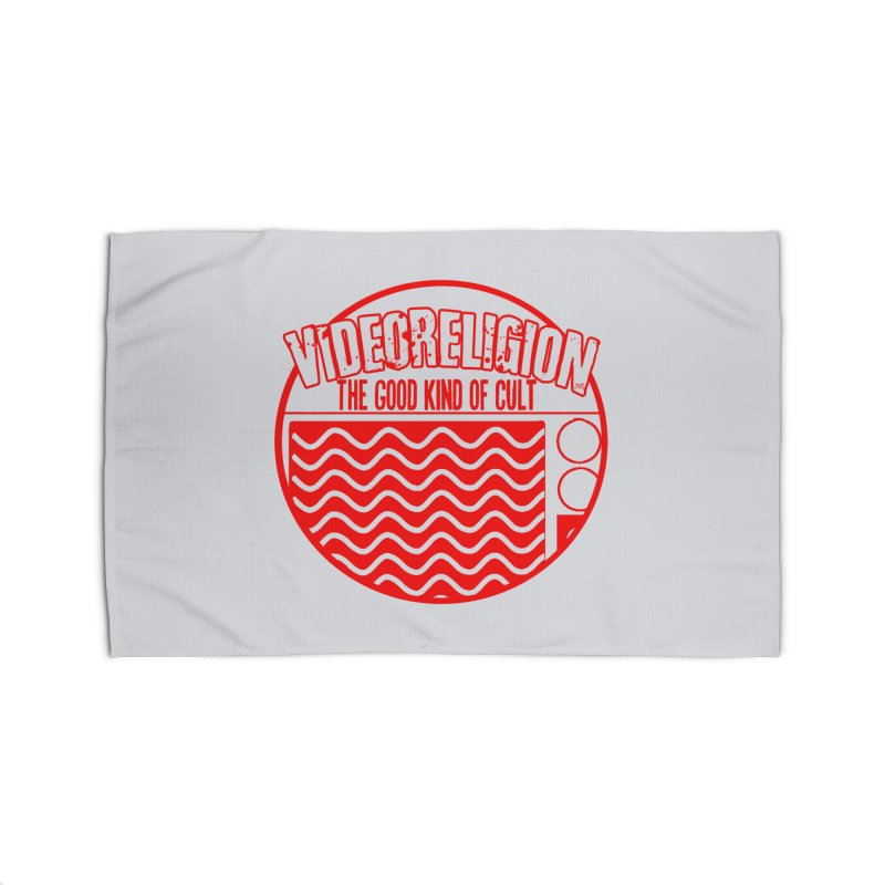 The Good Kind (red) Home Rug by VideoReligion's Shop