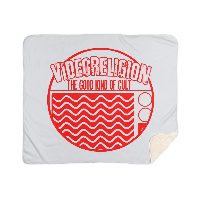 The Good Kind (red) Home Blanket by VideoReligion's Shop