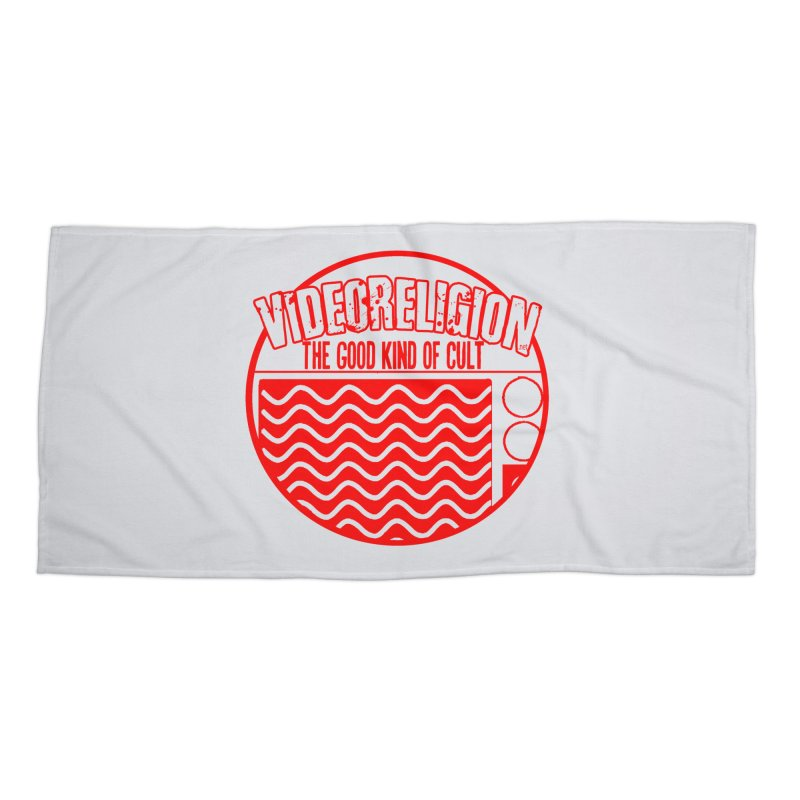 The Good Kind (red) Accessories Beach Towel by VideoReligion's Shop
