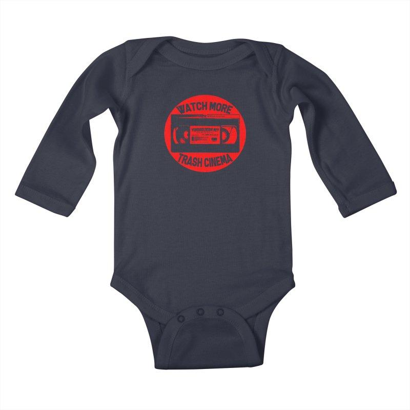 Seal of Quality Kids Baby Longsleeve Bodysuit by VideoReligion's Shop