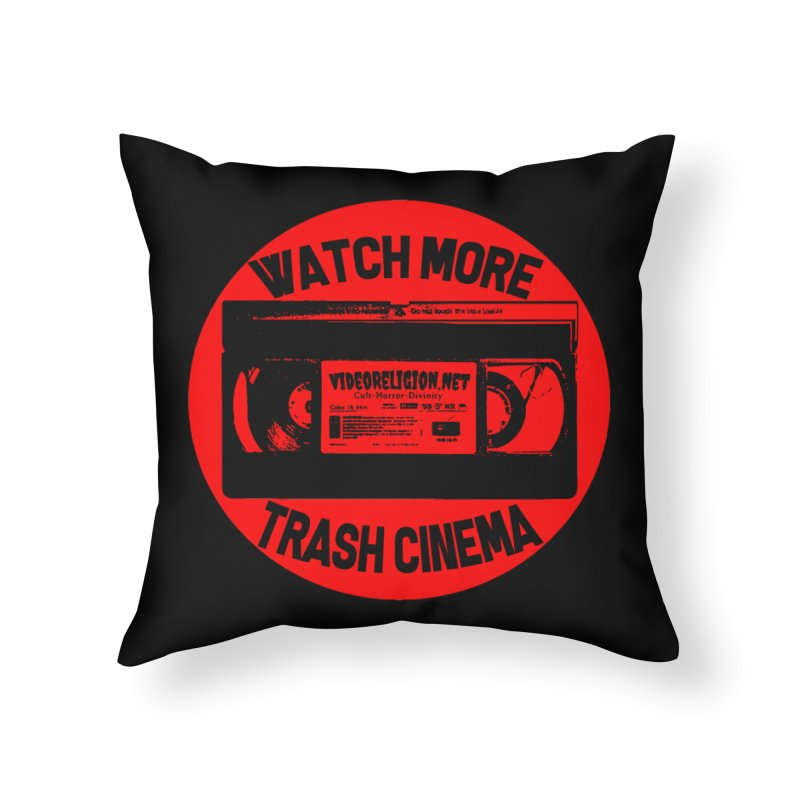 Seal of Quality Home Throw Pillow by VideoReligion's Shop