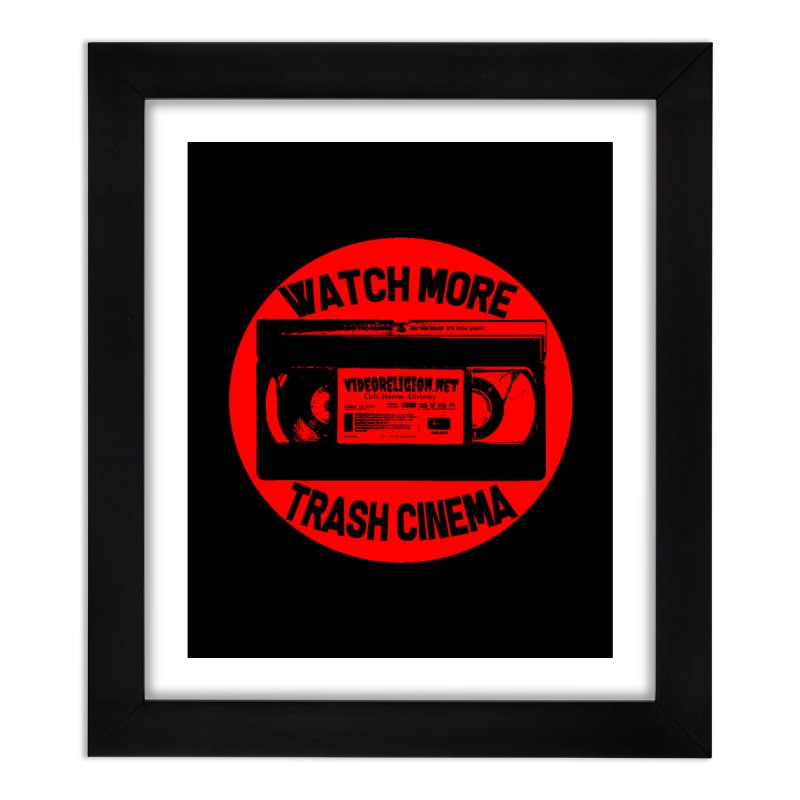 Seal of Quality Home Framed Fine Art Print by VideoReligion's Shop