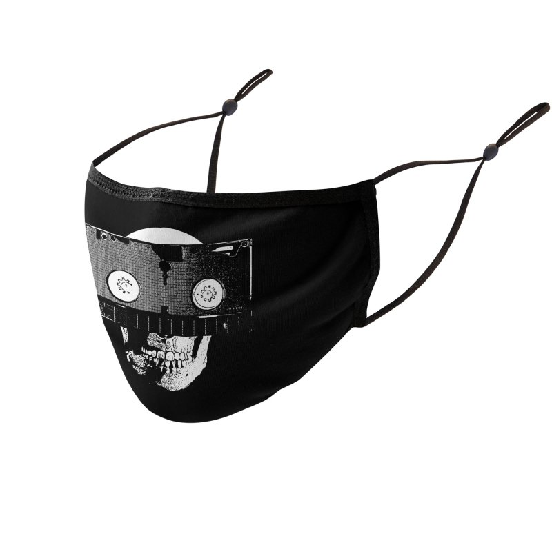 One Track Mind Accessories Face Mask by VideoReligion's Shop