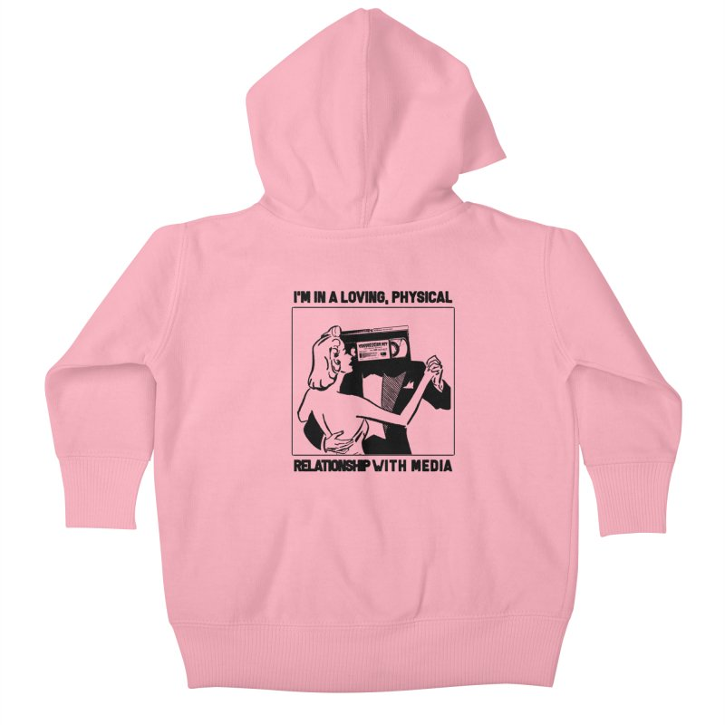 Second Hand Emotion Kids Baby Zip-Up Hoody by VideoReligion's Shop