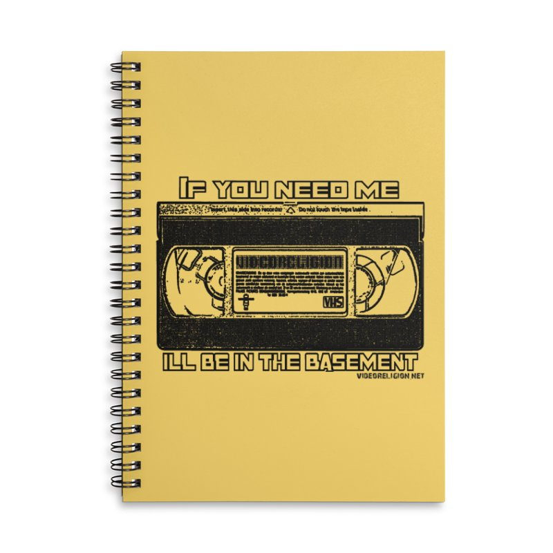 There's Something Down There Accessories Notebook by VideoReligion's Shop