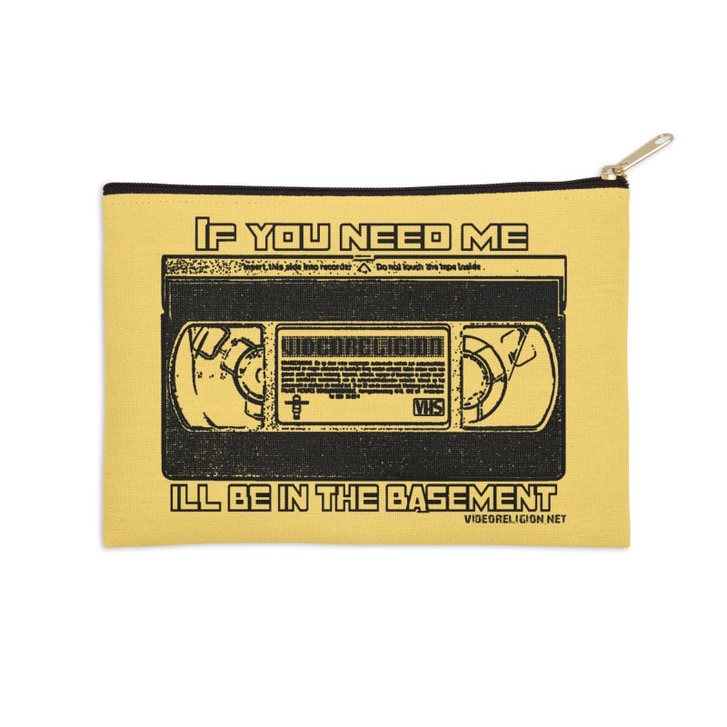 There's Something Down There Accessories Zip Pouch by VideoReligion's Shop