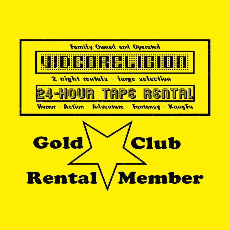 GOLD CLUB MEMBERS ONLY by VideoReligion's Shop