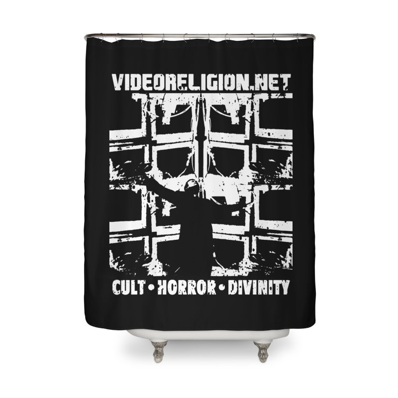 The Tube Altar Home Shower Curtain by VideoReligion's Shop